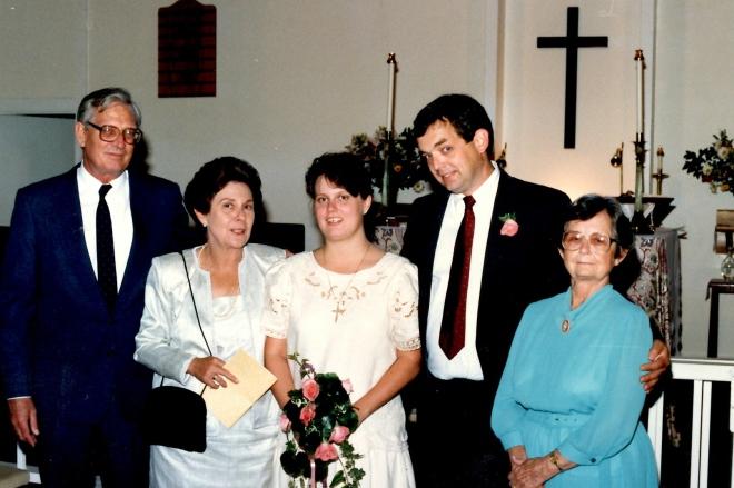 Gunnar, Ann, Rosa, Sherod, Juanita, July 9, 1988