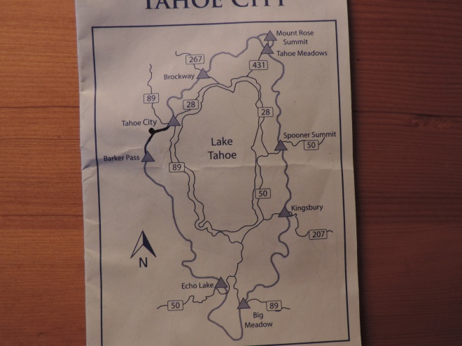 First Leg: Tahoe City to Paige Meadows