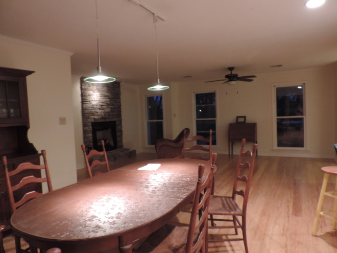 From a corner of the dining room