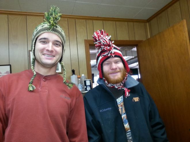 Chuck and James from the Prattville Farm Center