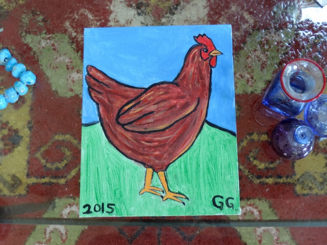 Rhode Island Red by Grace