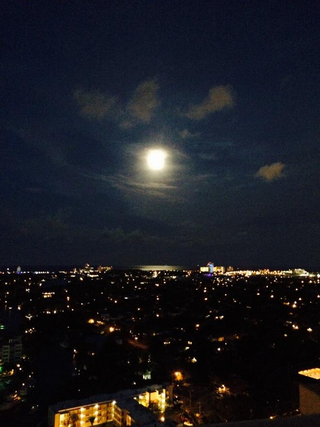 Moonrise, Fort Lauderale