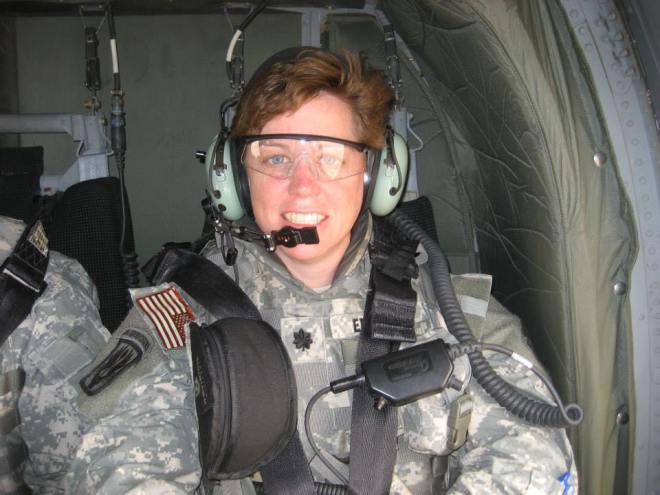 Kim in Iraq